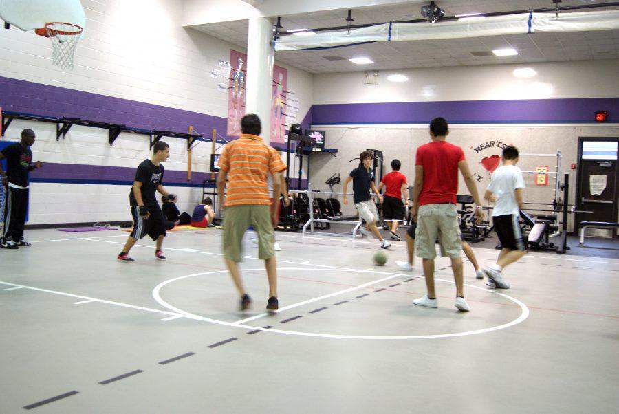 Fitness Center hosts intramurals