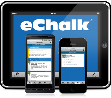 How to link your e-Chalk account to your e-mail