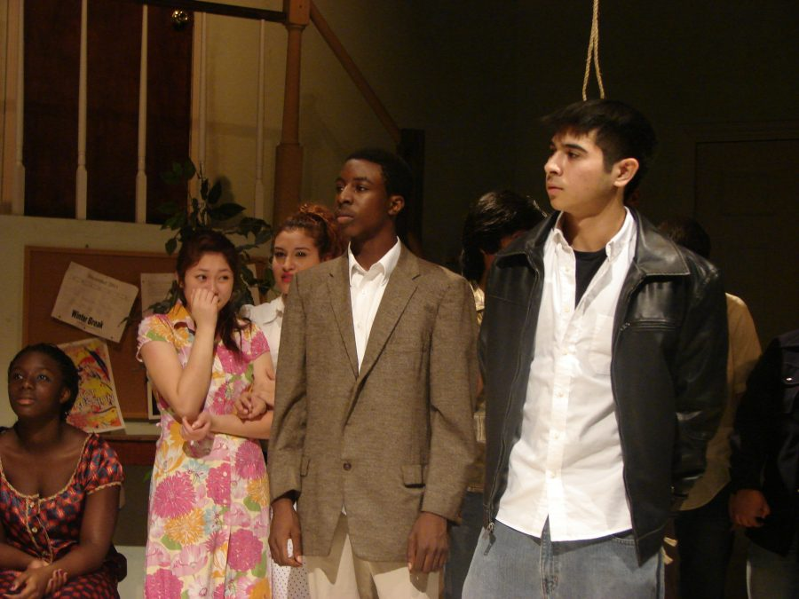 Theather studets perform 'The Beggar's Opera' as their final class play