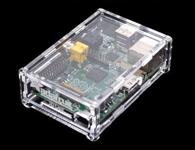 Raspberry Pi in case
