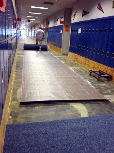 New carpet brings new outlook
