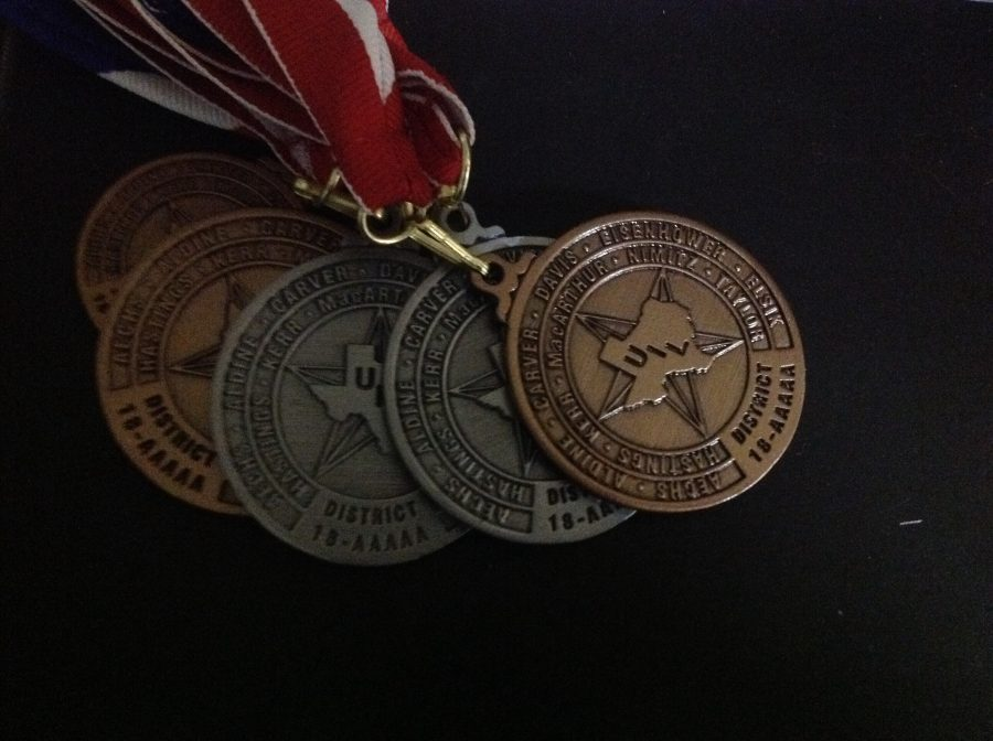 UIL+District+Medals