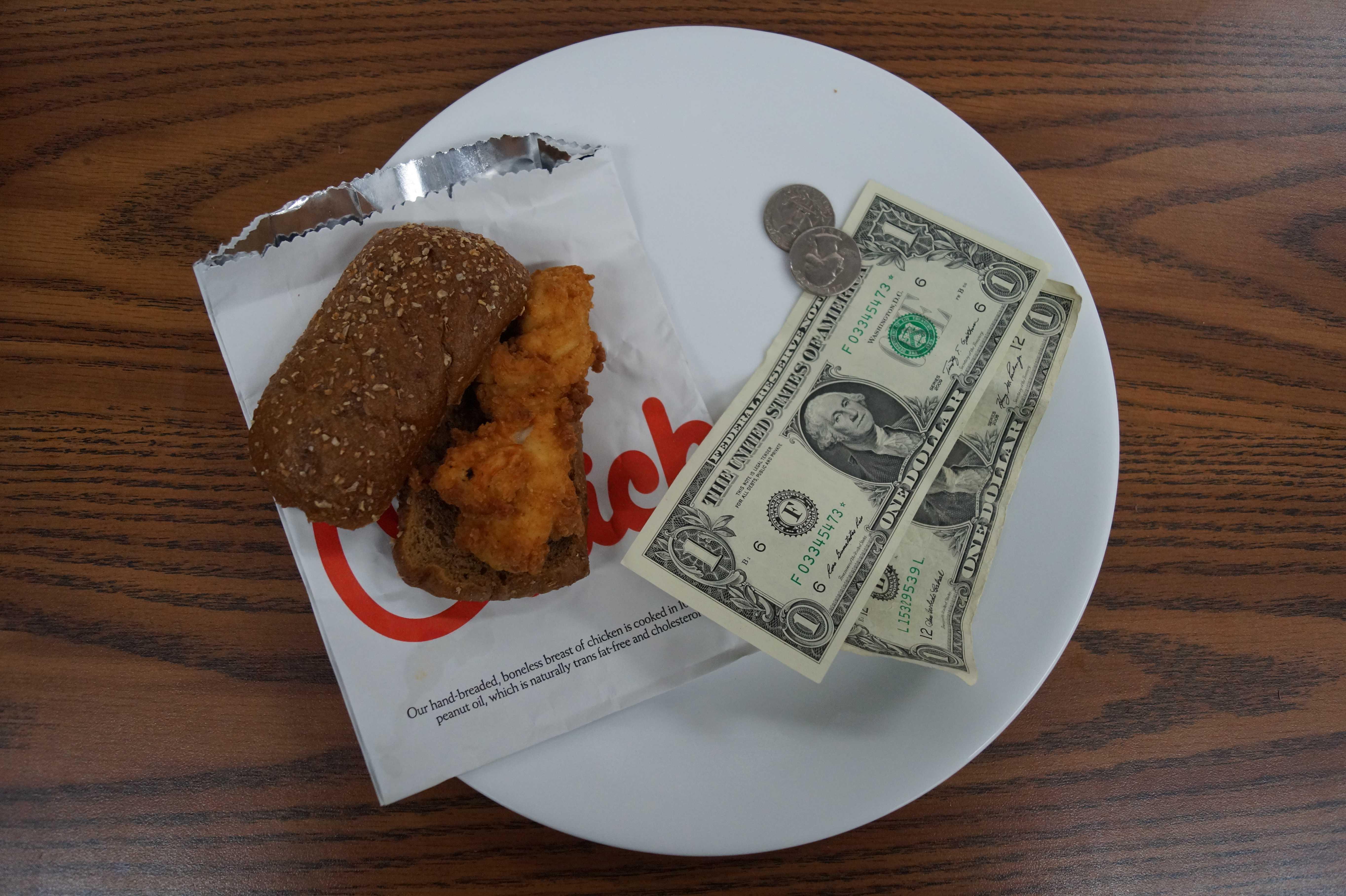 New Chik-fil-a sandwich