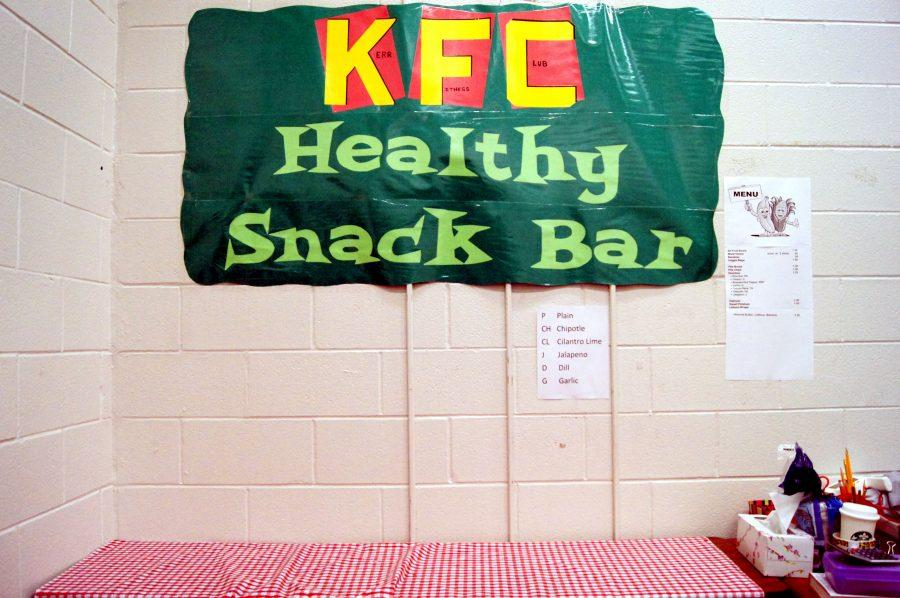 Coach Mary Bailey has temporarily closed the healthy snack bar due to health concerns.