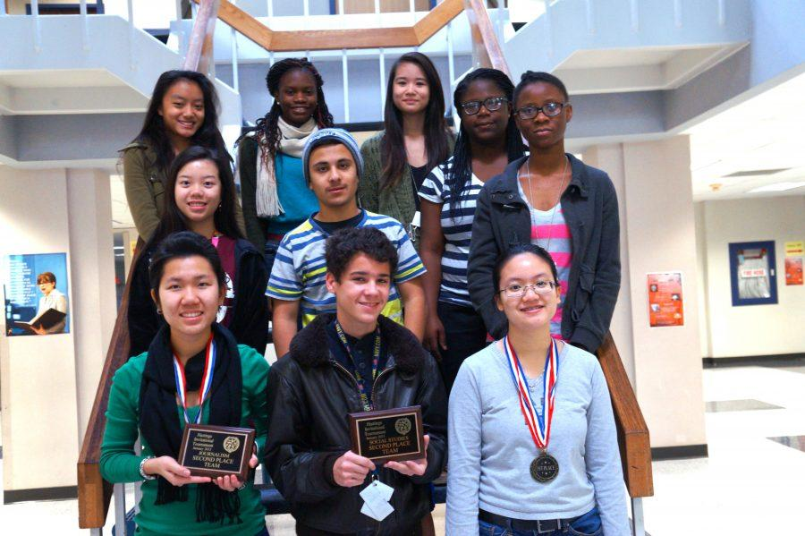 From left to right, top to bottom: Amy Haokip, Cynthia Muyah,Lily Duong, Amy Tang, Yazan Abuashour,  Ester Soyebo, Victoria Onigbinde, Camille Nguyen, Haden Cowdrey, and Yen Tran.