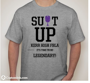 This is the t-shirt design for FBLA.