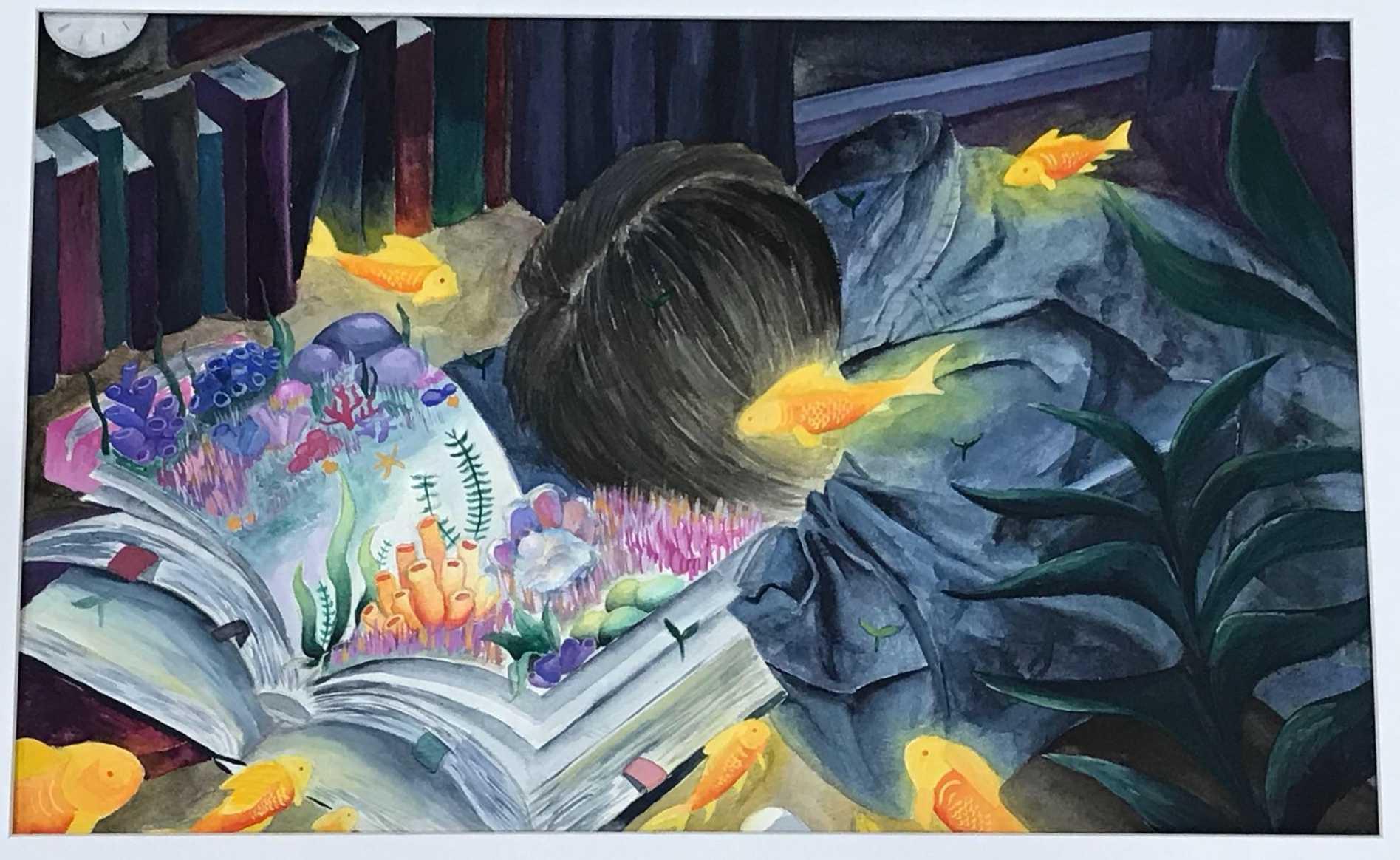"""""""Lucid Dreams At 4 AM"""" by Elizabeth Luu."""