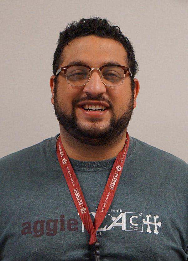 Math teacher Adrian Garcia