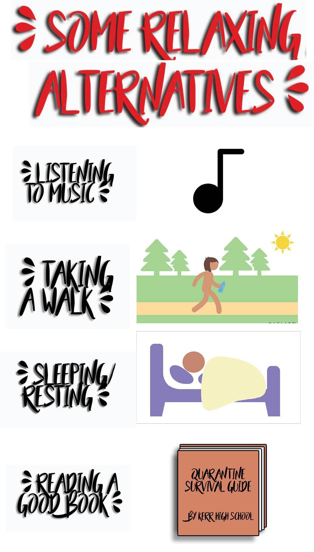 Relaxing Alternatives